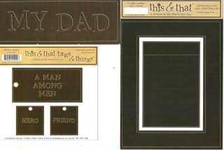 FRAME & TITLE PAGE KIT My Minds Eye This & That Choice