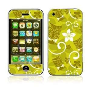 Apple iPhone 2G Vinyl Decal Sticker Skin   African Flower