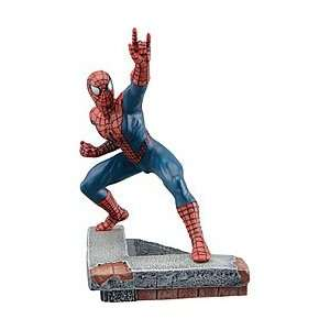 Hand painted Marvel Comics Spider man Die Cast Statue Toys & Games