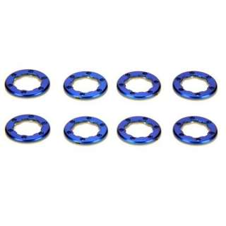 LOSI LOSB1582 WHEEL RINGS/8 BLUE MICRO ROCK CRAWLER NEW