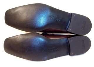 Salvatore Ferragamo Mens Brown Lizard Skin Dress Shoes Gancini Bit