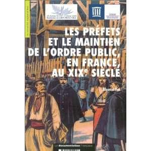 les prefets et le maintien de lordre public en france au