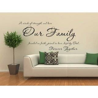 Quotes and sayings wall art quotesgram for Decoration quotes sayings