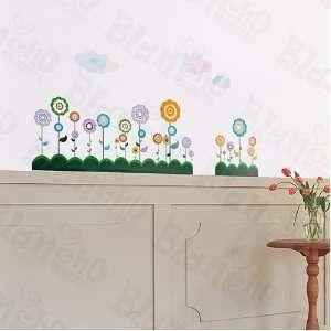 HEMU ZS 073   Flower Lollipop 2   Wall Decals Stickers Appliques Home