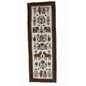 Hand Knitted Tapestry Wall Hanging Home Decor Art 58 X 19