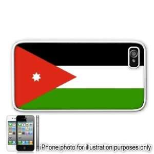 Jordan Jordanian Flag Apple Iphone 4 4s Case Cover White