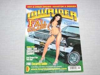 Lowrider Magazine Nov 01 History Chpt 11 Poster Intact
