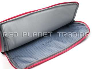 New Dell 15.6 Gray/Pink Laptop Carry Case Sleeve 982VN