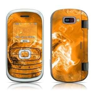 com Orange Quantum Waves Design Protective Skin Decal Sticker for LG