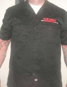 Bloody Knuckles Motorcycles  Dickies Work Shirt