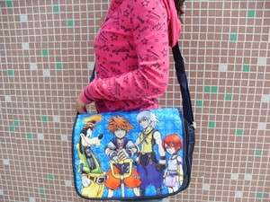 Kingdom Hearts Sora School Shoulder Bag Purse Bag