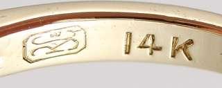 ELEGANT AQUAMARINE 14K YELLOW GOLD RING MODERN
