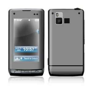 LG Dare VX9700 Skin Sticker Decal Cover   Simply Grey