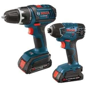 Bosch CLPK232 181 18 Volt Max 2 Tool Combo Kit