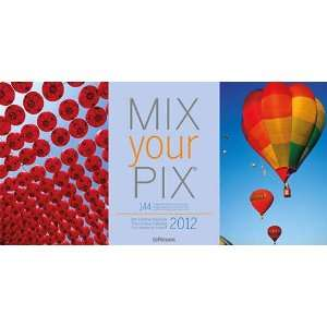 Mix Your Pix 2012 Easel Desk Calendar Office Products