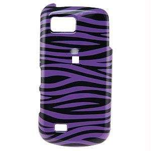 Icella FS SAT939 D23 Purple Black Zebra Snap on Cover for
