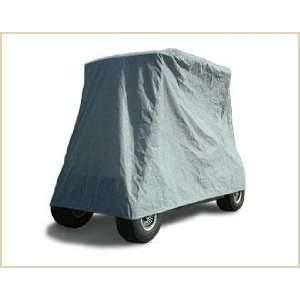 Gray Polypropylene 4 Passenger Golf Cart Cover by Beverly