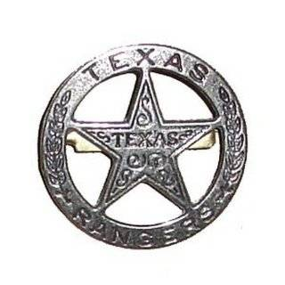 Texas Ranger Obsolete Old West Police Badge Star