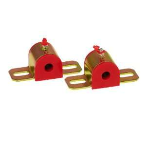 Red 9/16 Universal Greasable Sway Bar Bushing fits B Style Bracket