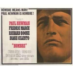 Hombre Movie Poster (11 x 14 Inches   28cm x 36cm) (1966