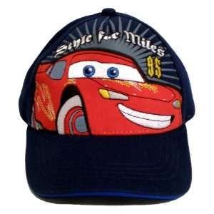 com Disneys Pixar Cars Movie Hat ~ The World of Cars (Style for Miles