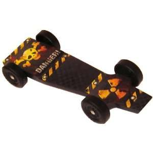 Inferno SX Extreme Speed Pinewood Derby Car Kit Toys & Games