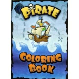 Pirate Coloring Book Toys & Games