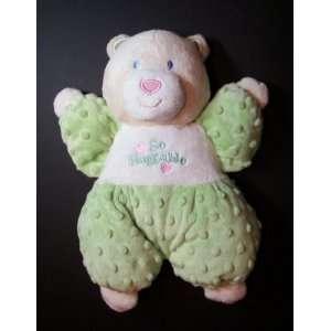 Kids Preferred So Huggable Velour Teddy Bear 12 Toys & Games
