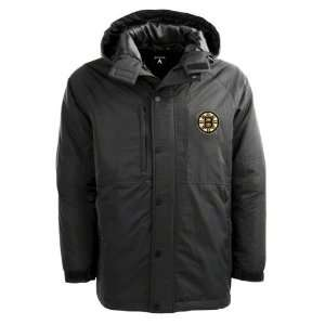 Boston Bruins Black Trek Full Zip Hooded Jacket: Sports