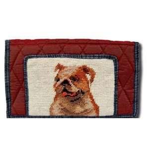 Claws Collection Bulldog Dog Puppy Large wallet / Handbag