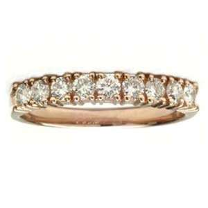 Carat Diamond 14k Rose Gold Anniversary / Wedding Ring Jewelry