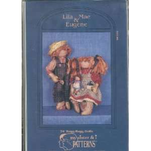 LILA MAE & EUGENE   24 Ragg Bagg Dolls [SEWING PATTERNS