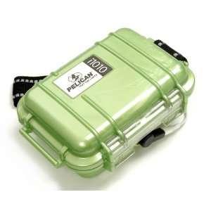 Pelican i1010 Waterproof Case for iPod (Green)