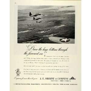 1944 Ad J.E. Sirrine Engineers WWII War Production