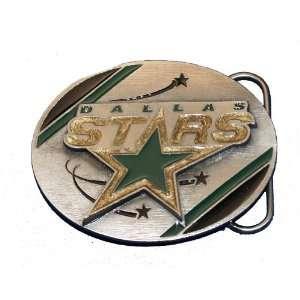 Dallas Stars NHL Hockey Belt Buckle Ice