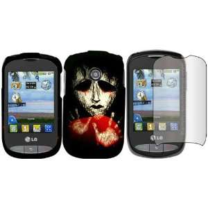 Protector for LG Cookie Style LG 800G: Cell Phones & Accessories
