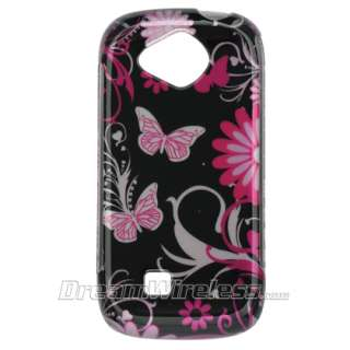 Samsung Reality U820 820 Pink Leopard Hard Case Cover