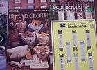 LOT OF 14~CROSS STITCH PATTERNS,BOOKMARKS, TABLE LINENS, BREAD CLOTHS