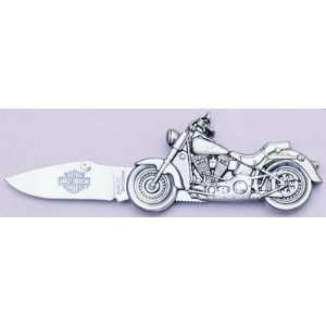 Harley Davidson Fat Boy Die Cast Motorcycle Knife