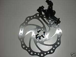 Bike BICYCLE Disk Disc Brake Calipers 160mm 6 Bolt Rear
