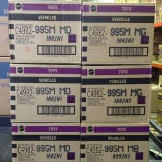 WHEELS 2012 Factory Sealed M Case C4982 995M Worldwide 72 Cars