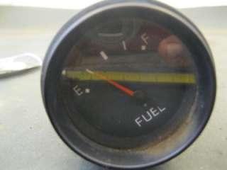 Sea Ray Fuel Gauge Gas Boat Marine Black Small Used