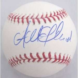 Andrew McCutchen Signed Ball   OML PROOF COA   Autographed