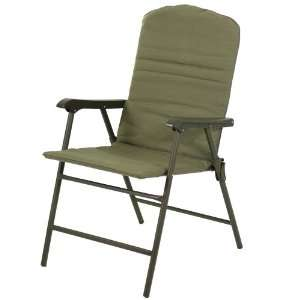 Outdoor padded folding chair set of 2 patio lawn