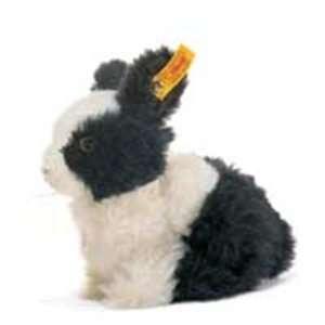 Steiff Dormili Dwarf Rabbit Alpaca 7 Black/White Toys