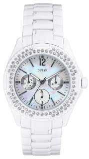 New Guess G12543L WaterPro White Candy Ladies Watch