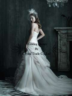 New wedding bridal dress Prom gown custom / US size 2 4 6 8 10 12 14