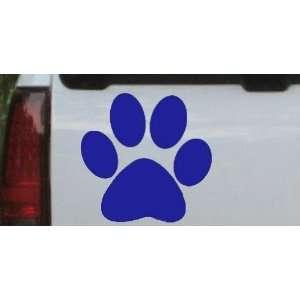 com School Team Paw Print Sports Car Window Wall Laptop Decal Sticker