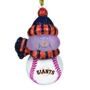 MLB All Star Light Up Snowman   San Francisco Giants (Set