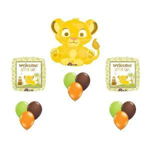 Lion King Baby Simba Baby Shower Party Supplies Balloons
